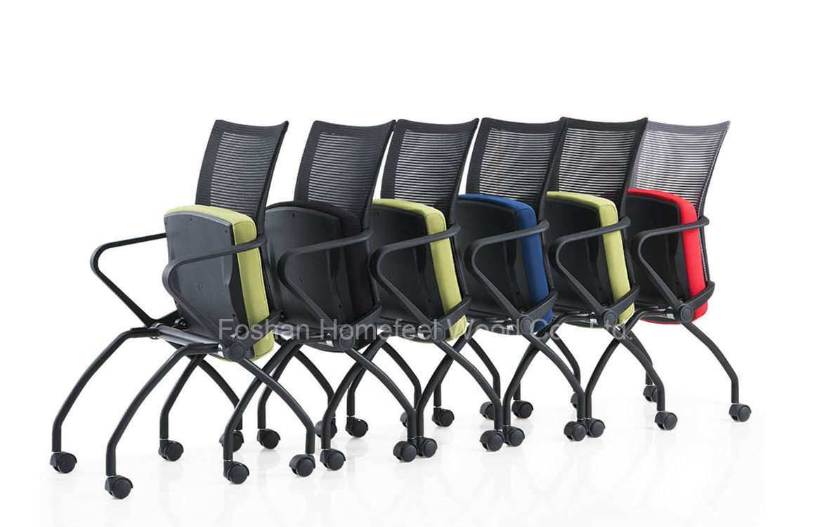China Colorful Mesh Stackable Office Chair Ch 077c Photos Pictures Made In China Com
