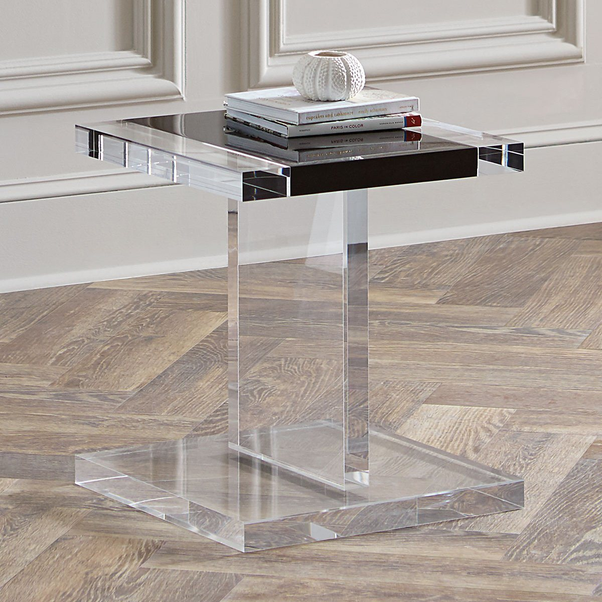 Hot Item Factory Customized Furniture Folding Acrylic Coffee Table For Living Room