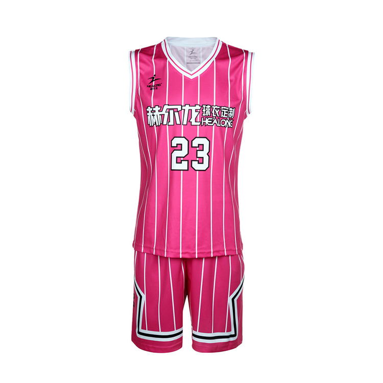 4e03f37e88c0 China Healong Plain Basketball Jersey Custom Cheap Mens Basketball Uniform  Wholesale - China Custom Basketball Uniform