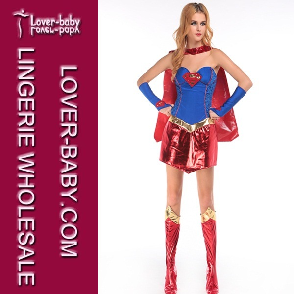 Sexy supergirl halloween costume