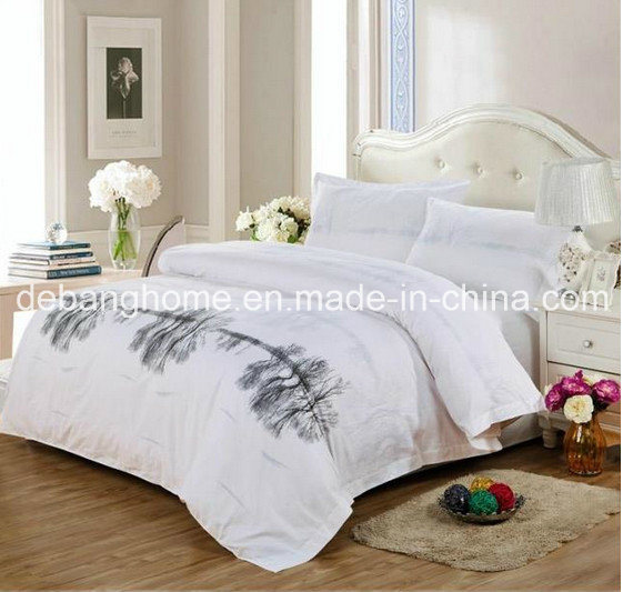 High Quality 100% Cotton White Simple Style Comfortable Bedding Sets