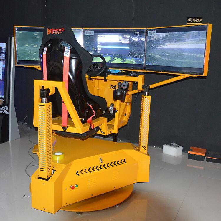 China 3D Car Games Electric Cylinder Car Racing Cockpit PS4