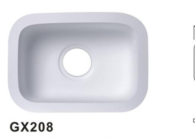 China Sgs Ce Tuv Verified Solid Surface Acrylic Kitchen Sink Wash Basin Bathroom