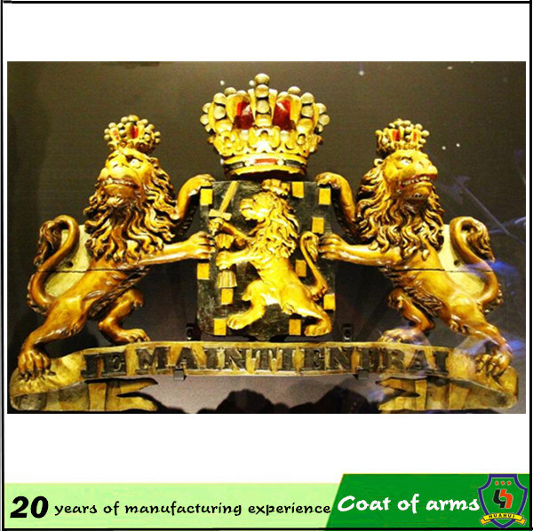 Royal Coat of Arms/ UK Metal Royal 3D Emblem pictures & photos