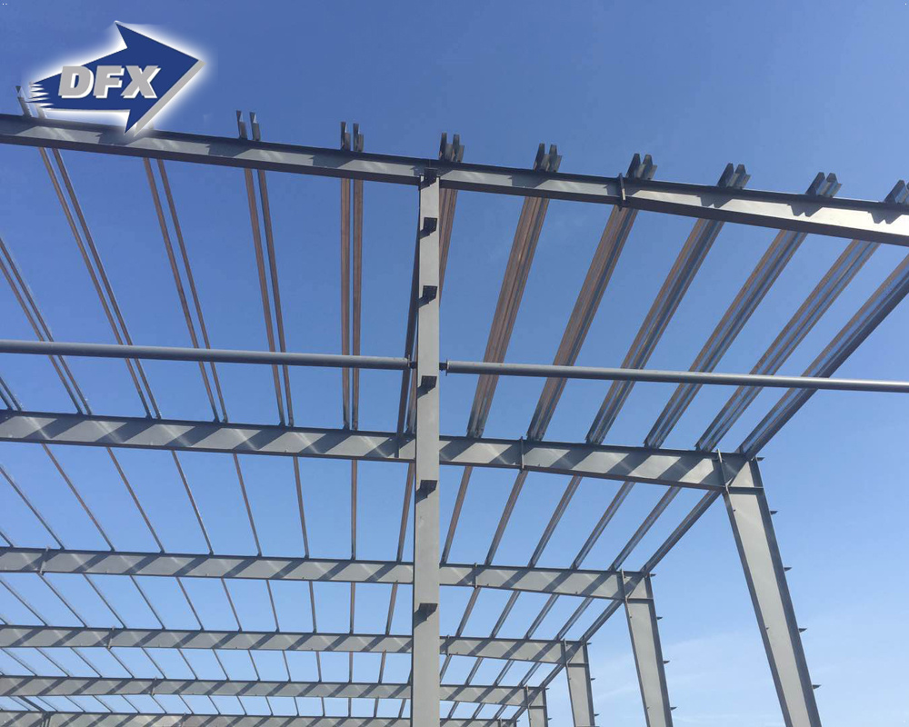 China Large Span First-Class Portal Steel Frame Prefabricated ...