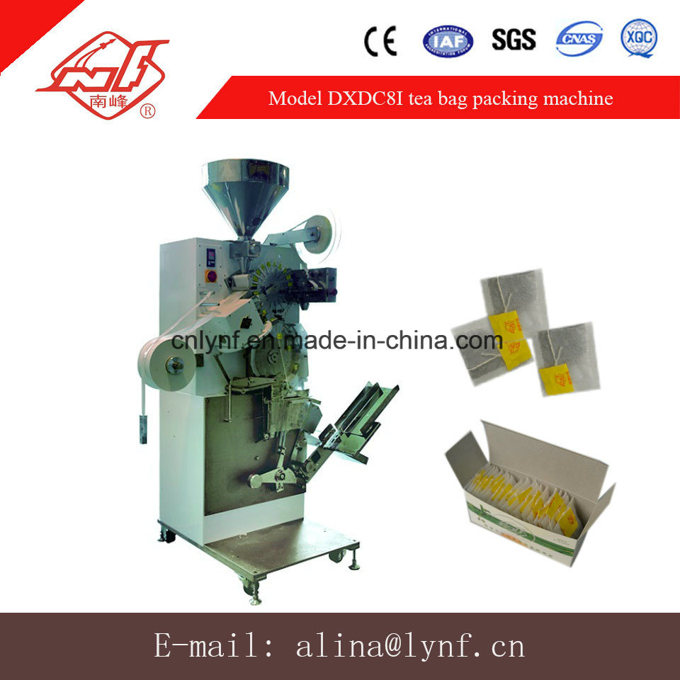 High Speed Single Chamber Tea Bag Packing Machine with Box Device System (DXDC8I) //31 Years Factory for Tea Bag Packing Machine// pictures & photos