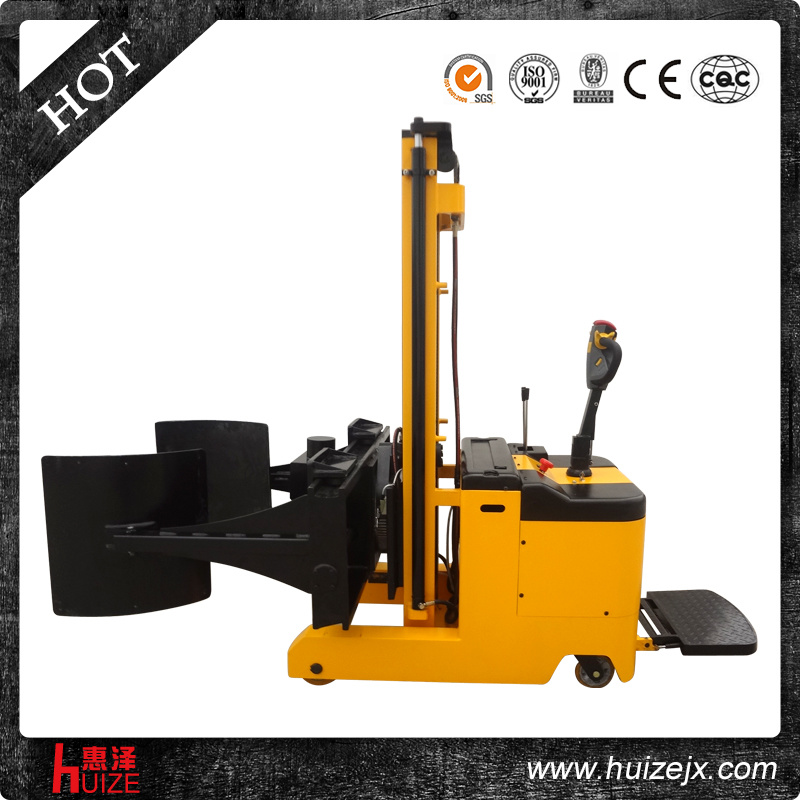 Hand Walkie Electric Lift Paper Roll Handling Lifting: China Electric Walkie Lift Paper Roll Clamp
