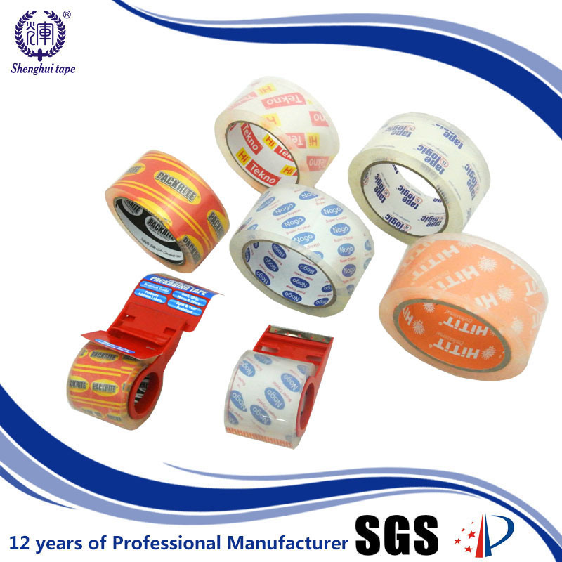 for Carton Sealing Low Noise BOPP Adhesive Packing Tape pictures & photos