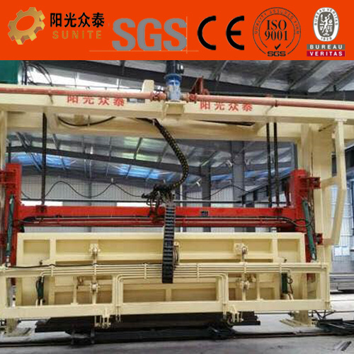 China Autoclaved Aerated Concrete Block Plant and Building