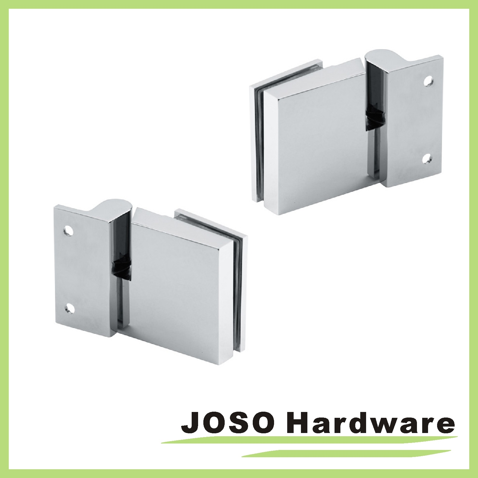 China Chrome Glass To Wall Frosted Glass Door Overlay Hinge Bh1203