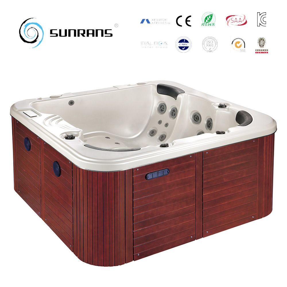 China Commercial Portable Build in Hot Tub with SPA Jets and Balboa ...