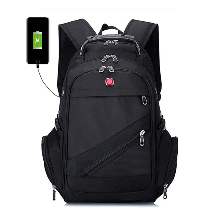 ae805e4c8d8e Wholesale Large Travel Laptop Waterproof USB Charging Laptop with Rain  Cover Backpack