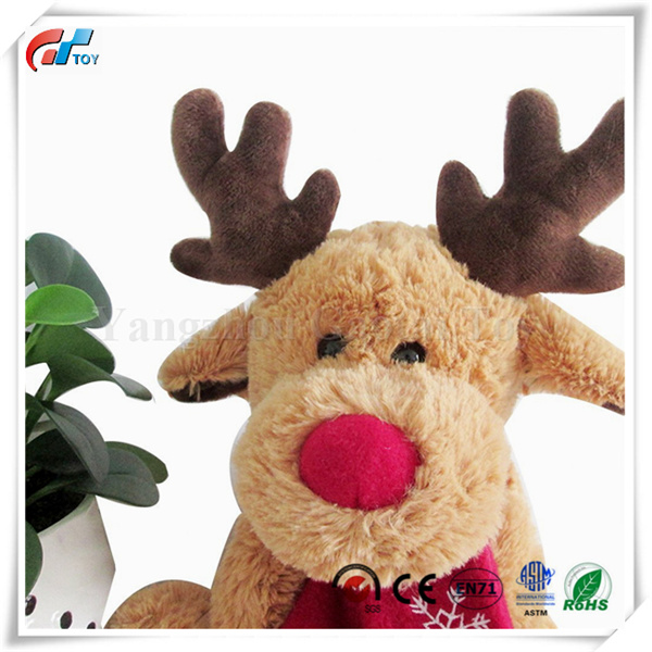 moose stuffed animal christmas moose deer stuffed animal toys reindeer decorations