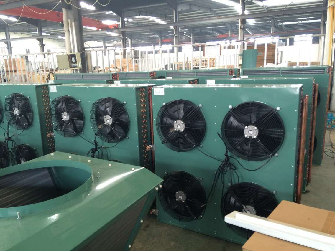 China Hot Sale Fin Type Cooper Tube Air Cooled Condenser for Cold Room pictures & photos