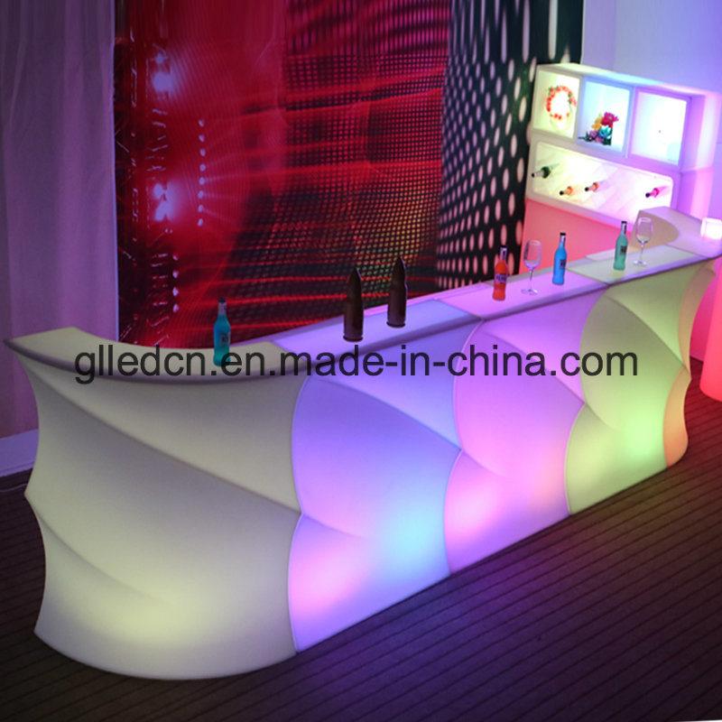 China Led Hookah Lounge Furniture Plastic Bar Dubai