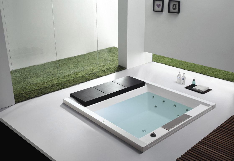 China Monalisa Indoor Whirlpool Massage Bathtub M-2042 - China ...