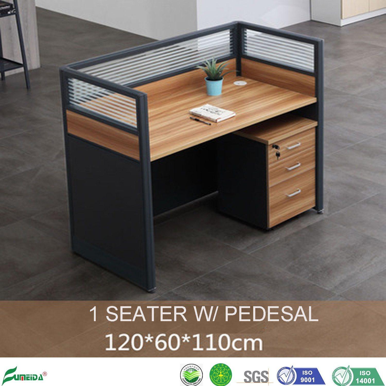 - China Wooden Furniture Modular Partition Staff Computer Desk