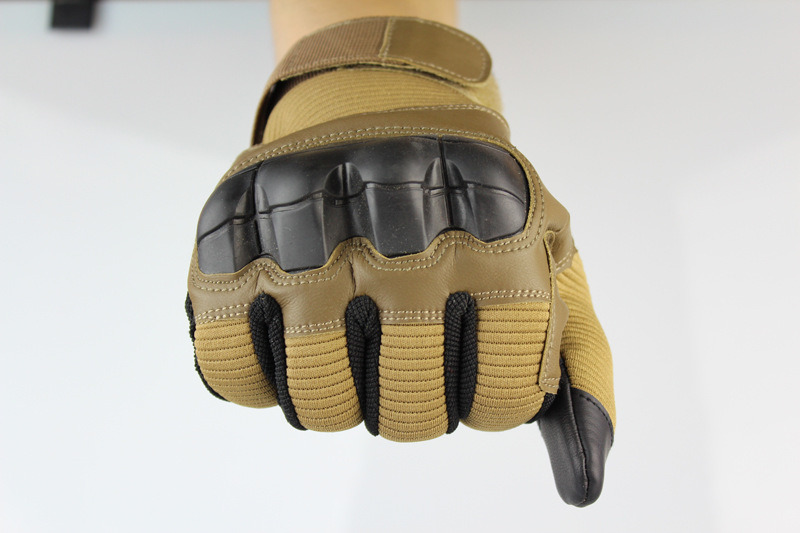 Tactical Knuckle Half Finger Gloves Army Military Breatheable Sport Mittens YU