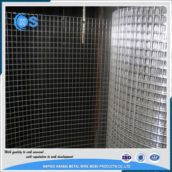 China PVC Coated or Galvanized 8 Gauge Welded Wire Mesh - China PVC ...