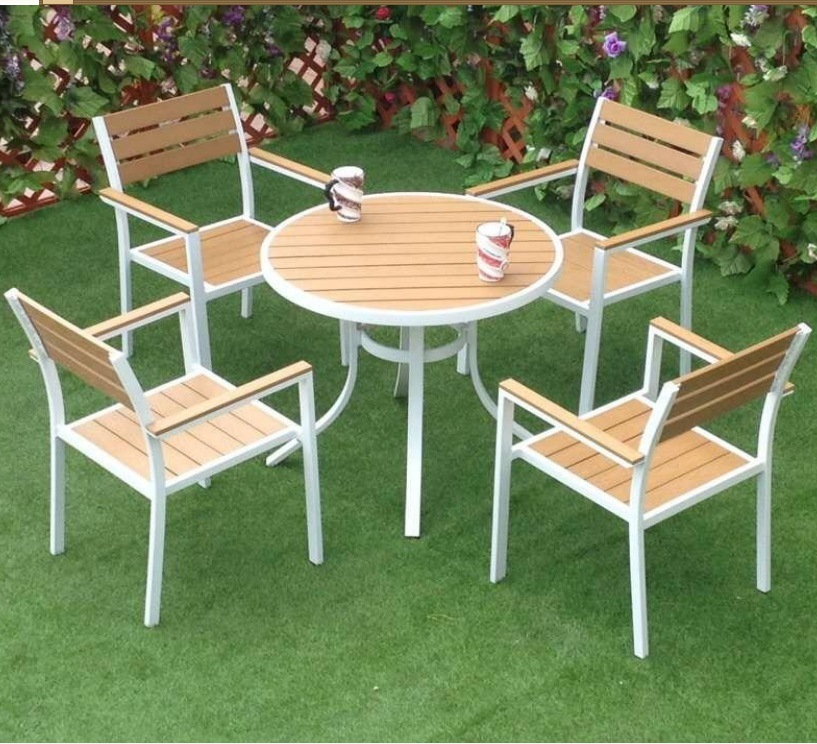 China Polywood Outdoor Furniture For Garden Set China Wood Table