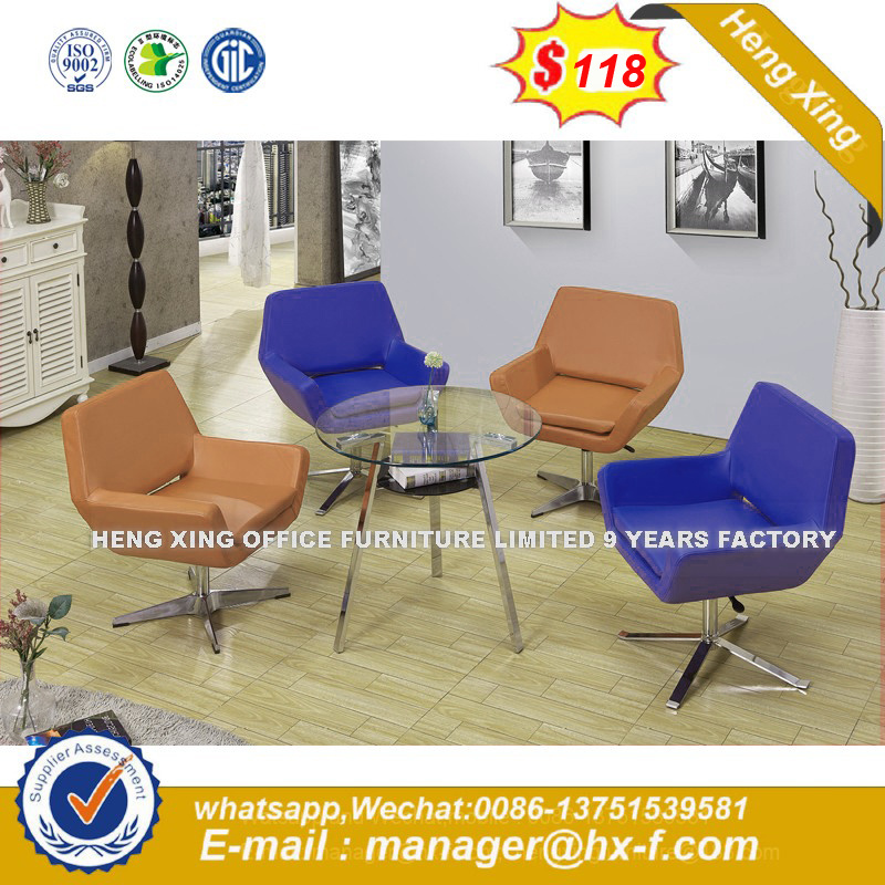 Coffee Shop Leather Sofa Chairs (HX-SN8014) pictures & photos