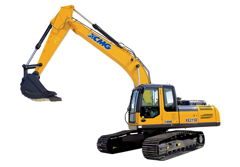 [Hot Item] China Excavator Price XCMG 21 Ton Crawler Excavator Xe215