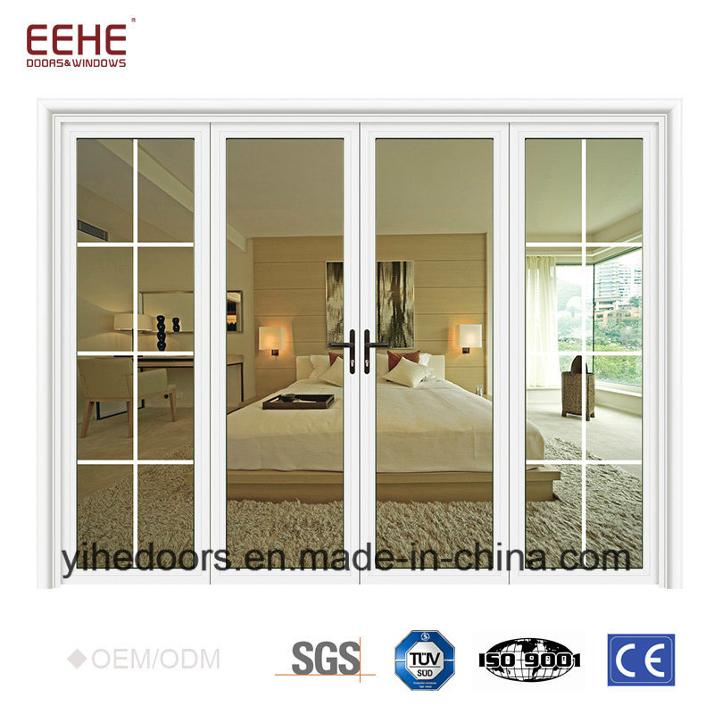 China Cheapest Aluminum Glass Door Price Philippines Double Leaf