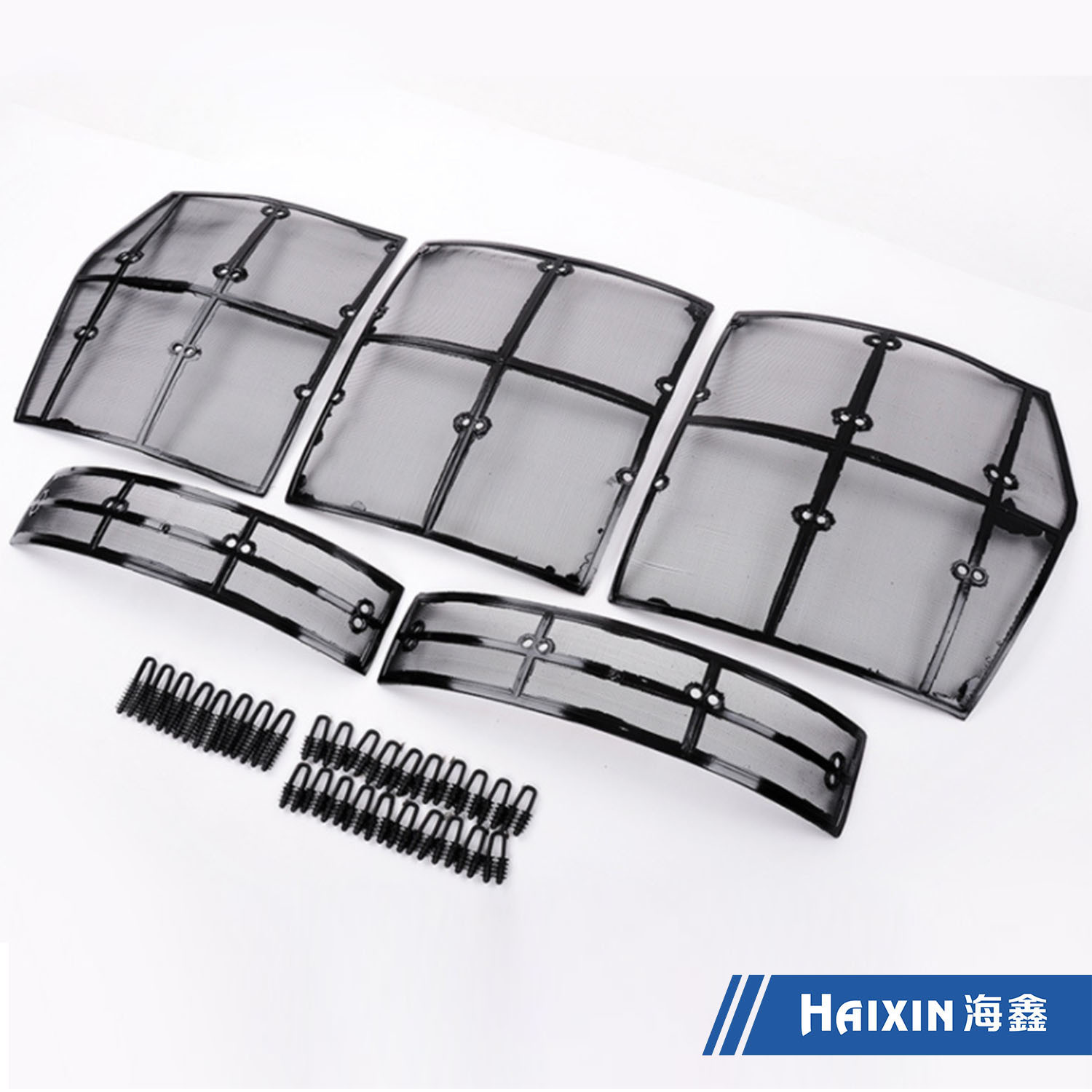 Haixin Custom Made Car Grille Insect Prevention/Auto Plastic Part