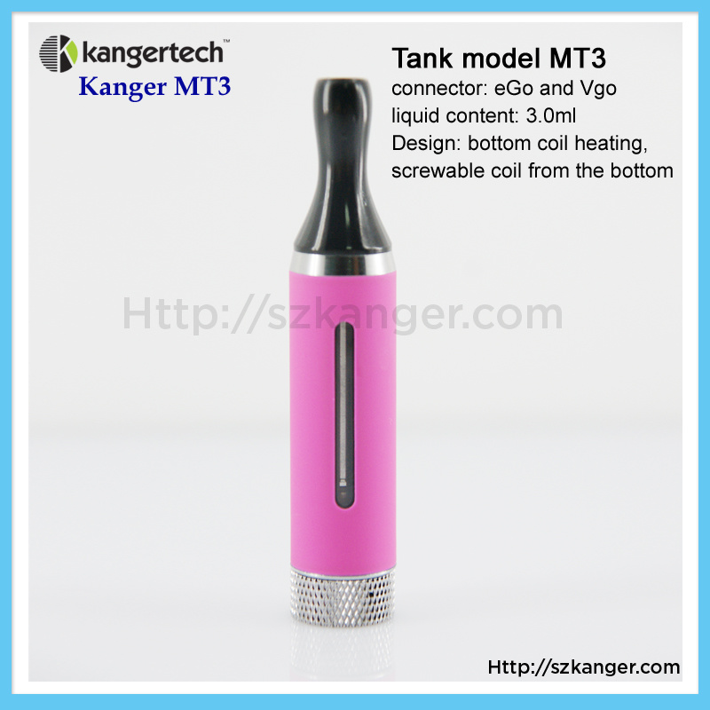 Electronic Cigarette Clear Cartomizer Mt3