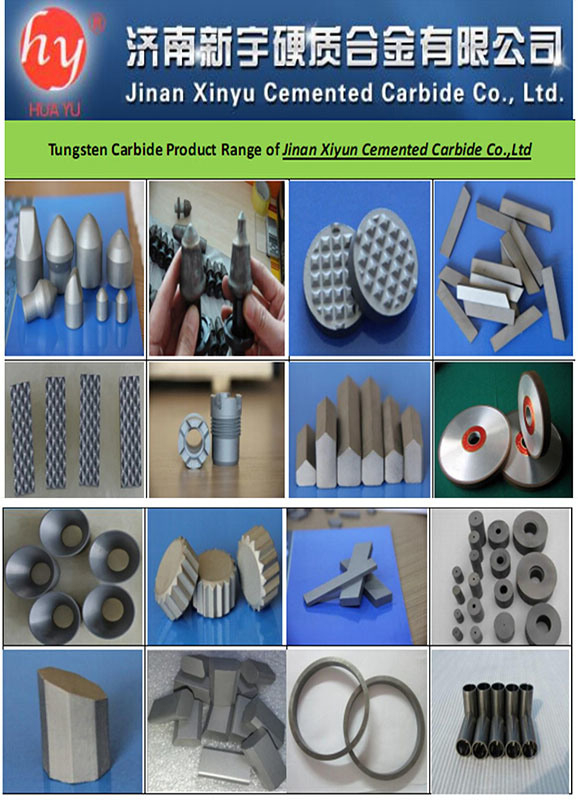 Different Types of Cemented Carbide for Coal-Cutting