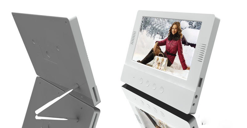 Digital Photo Frame with Speaker in Front