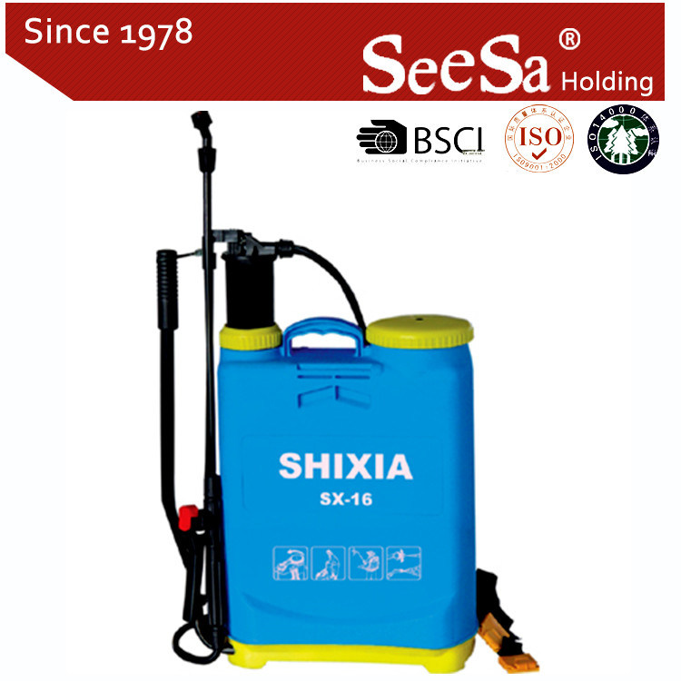 Seesa 16L Knapsack/Backpack Manual Air Pressure Agricultural Sprayer (SX-LK16) pictures & photos