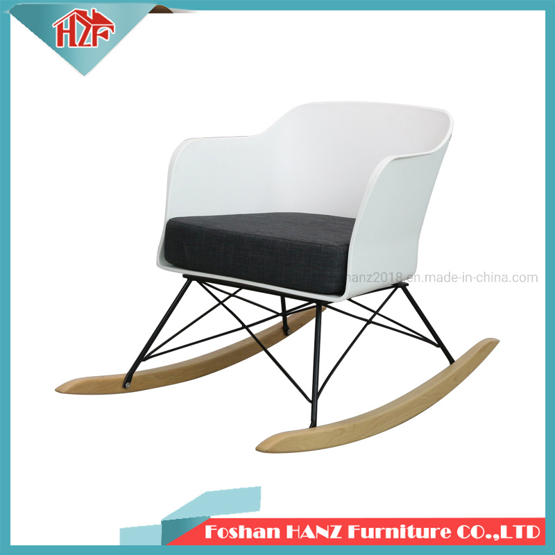 Fine Hot Item Modern Hay Plastic Comfortable Thick Cushion Rocking Chair Dailytribune Chair Design For Home Dailytribuneorg