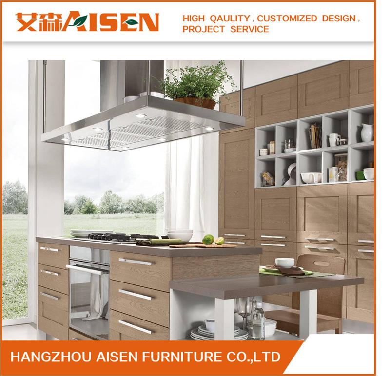 China Shaker Solid Wood Door Panel Blum Kitchen Cabinet Furniture Home
