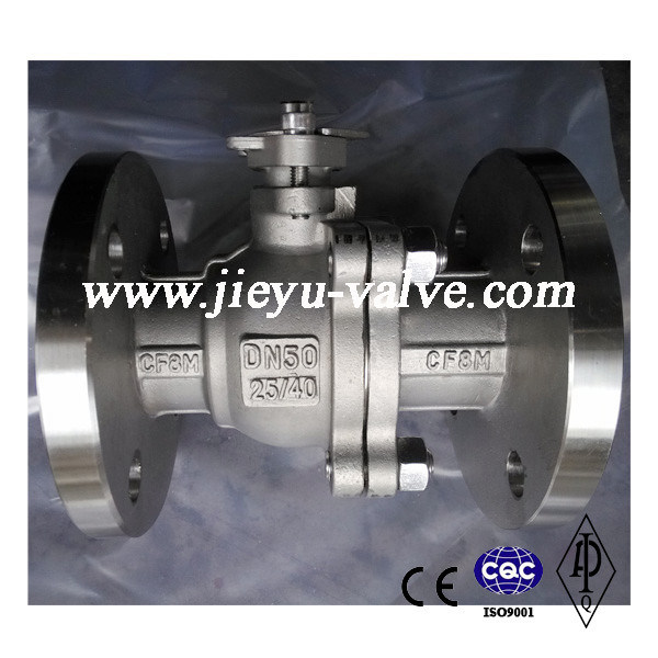 Stainless Steel CF8m Pn25/40 Ball Valve