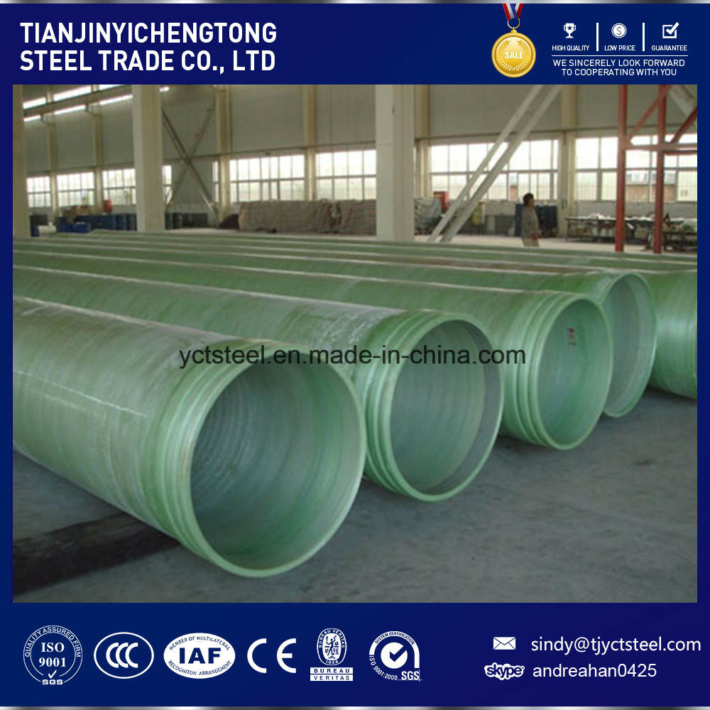 China Wholesale Sn10000 GRP Pipe Price with 1.5MPa Pressure - China FRP Pipe,  GRP Pipe Price