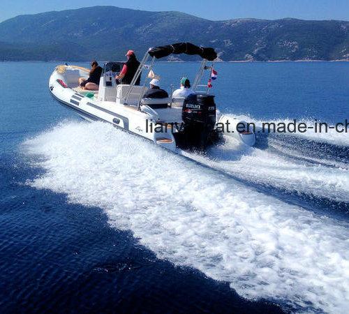 Liya 22ft Ce Approved Center Console Boat China Rib Boats