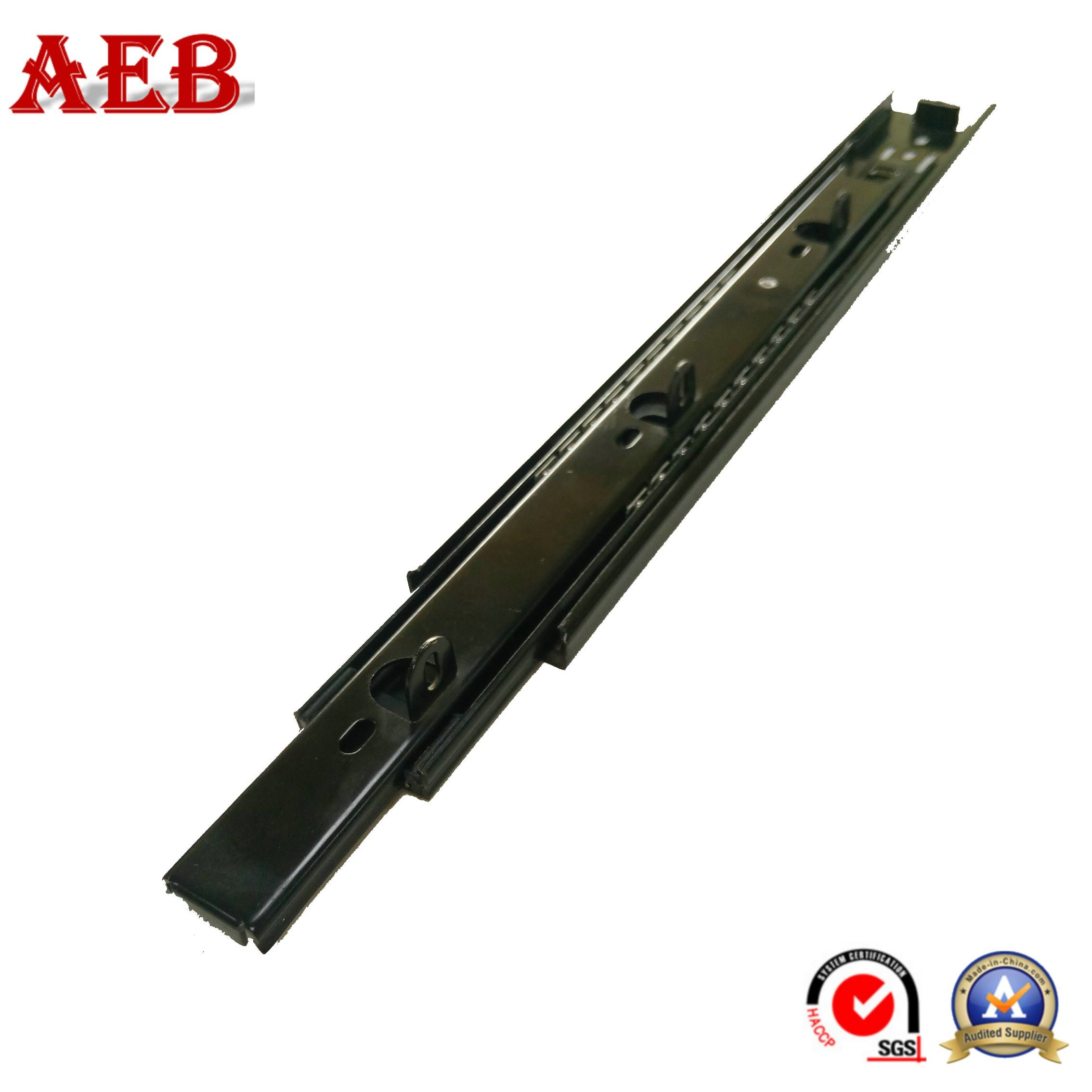China Full Extension Bottom Mount Drawer Slide 45mm Cabinet Rail