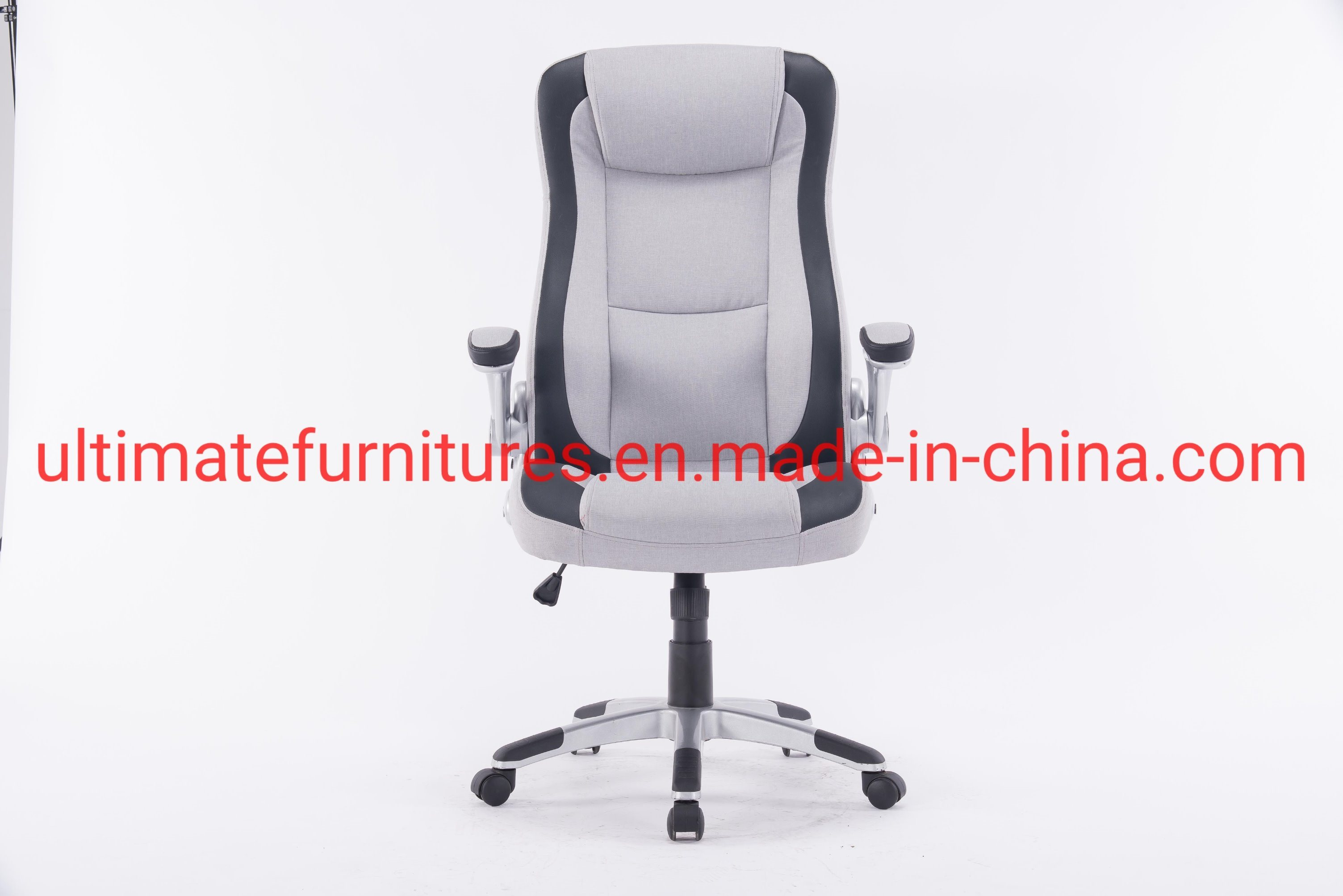 [Hot Item] Office Chair Fabric Desk High Back Ergonomic Adjustable Racing  Chair Task Swivel Executive Computer Chair
