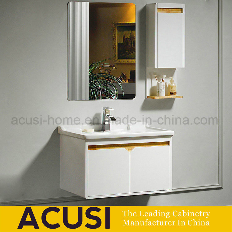Hot Item Lacquer Plywood Bathroom Furniture Hanging Modern Bathroom Cabinets Acs1 L45