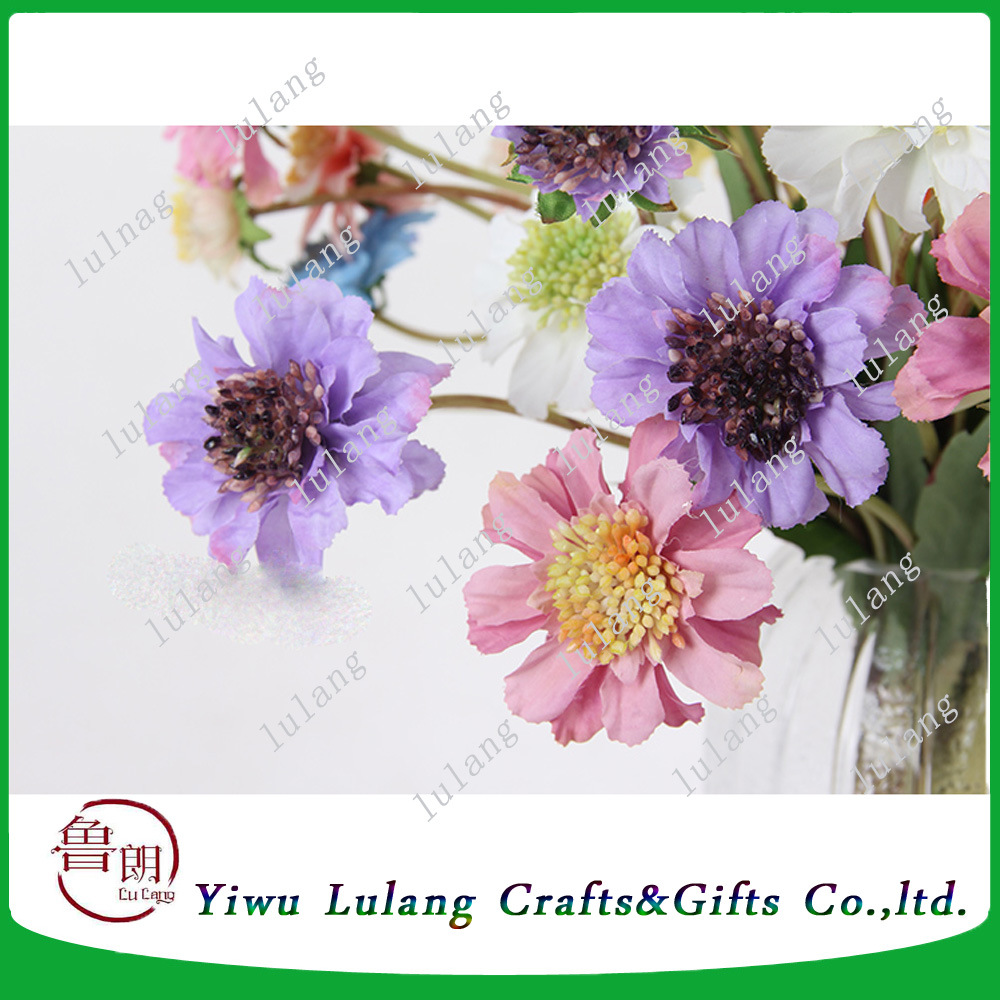 Artificialplasticsilk Flower Windmill Chrysanthemum Flowers China