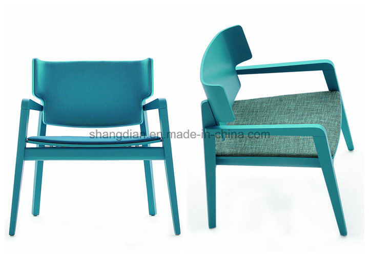 Blue Hotel Desk Chair/Hotel Furniture Chair/Cafe Shop Dining Chair (KL C03) pictures & photos