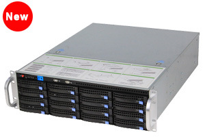 [Hot Item] Ai NVR Face Recognition 16HDD Hot Swap Support RAID5, RAID6  Storage Storage Server Nvss8716