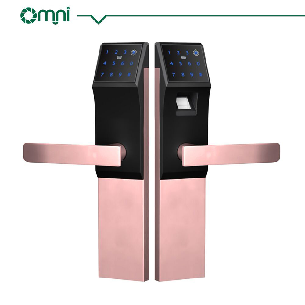 China Double Sided Fingerprint Door Lock Key Card Door Lock With OEM/ ODM    China Home Door Lock, Key Card Door Lock