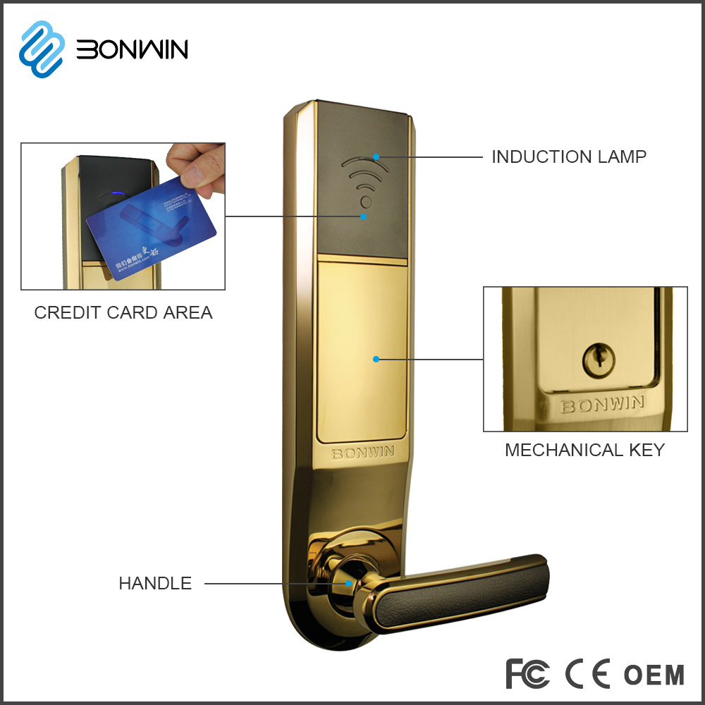 China Electronic Digital Cylinder Door Locks and Handles pictures & photos