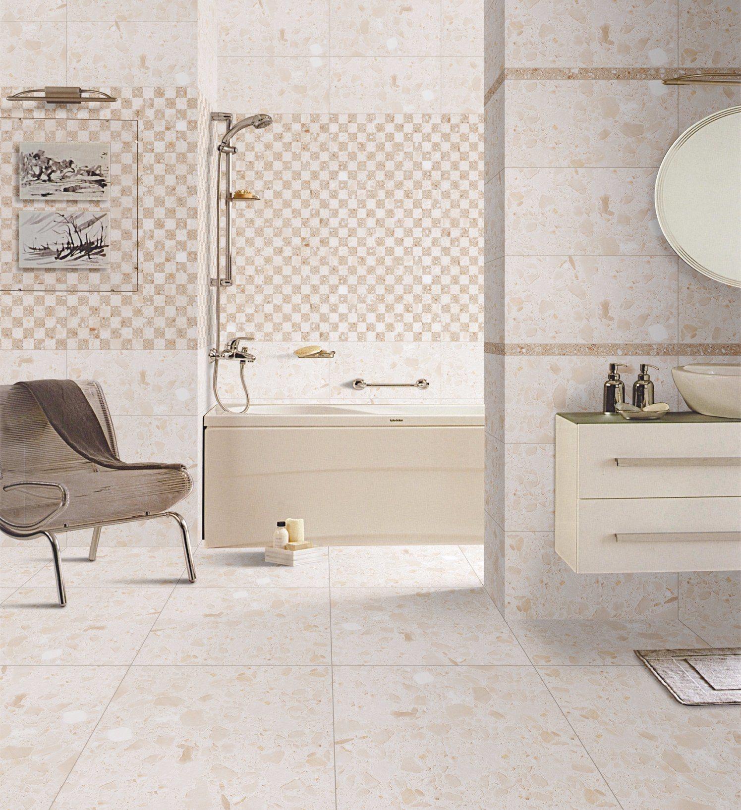 China New Design Ceramic Tile Porcealin Tile for Floor Bathroom ...