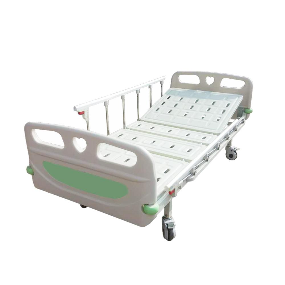 - China Double-Folding Hospital Bed With 2 Cranks - China Hospital