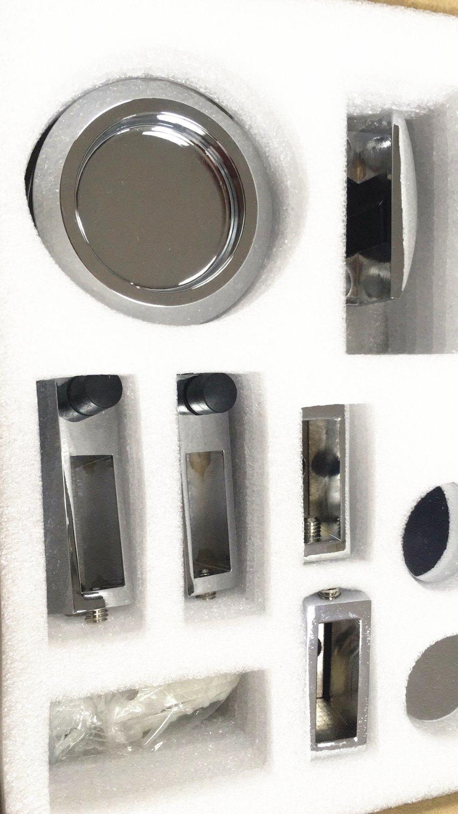 China Cheap Price Frameless Sliding Shower Doors Hardware