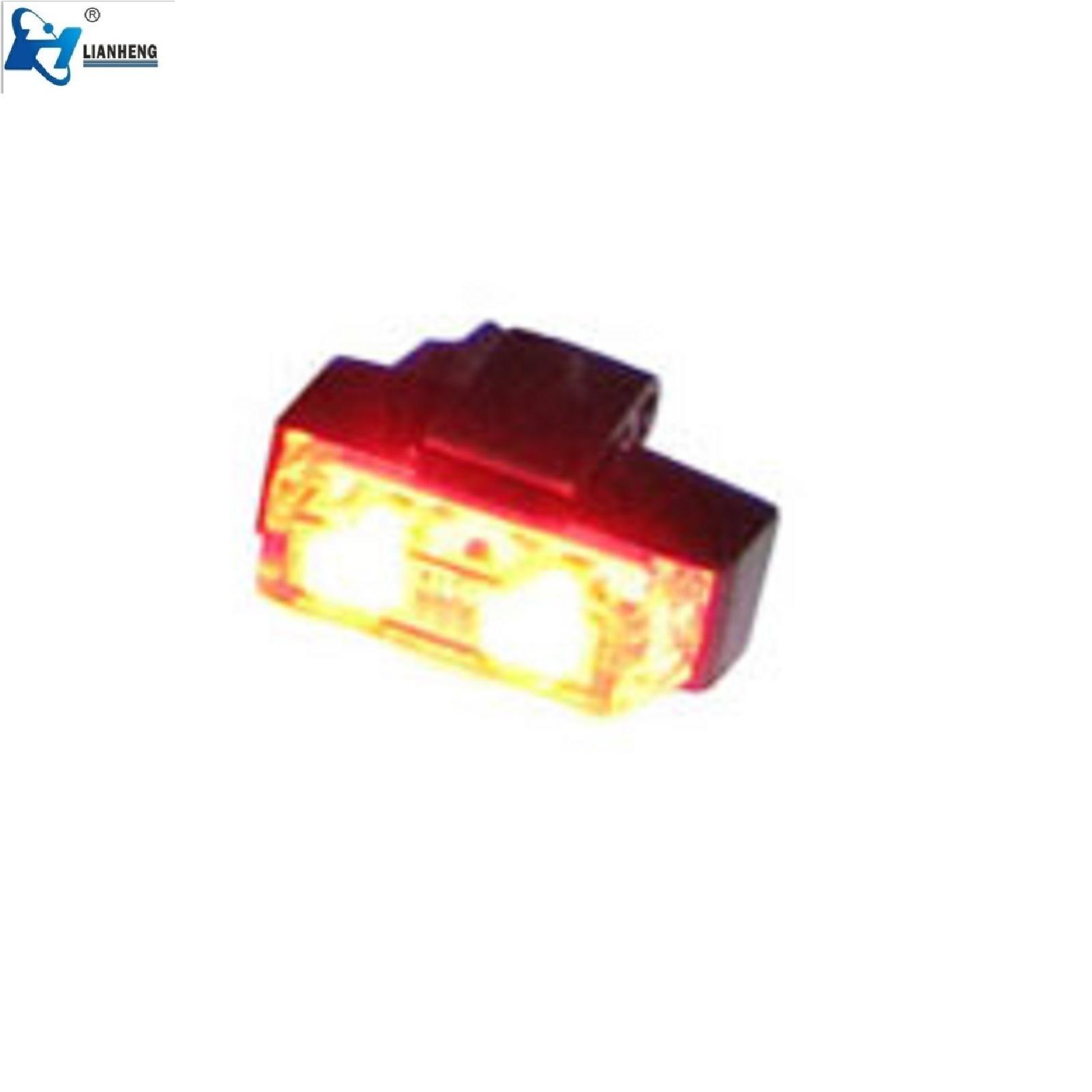 China Amber 4 Led Strobe Dash Light Car