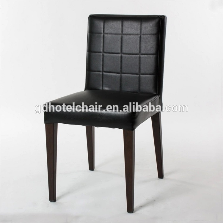 China 2018 Modern Design Black Leather Dining Chair/Restaurant Chairs    China Banquet Chair, Iron Banquet Chair